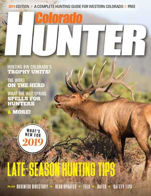 Featured in Colorado Hunter