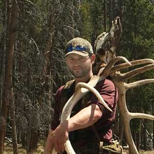 Hunting guide Corey Case