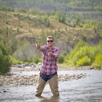Orvis-Endorsed fly fishing on private sections of the Colorado and Fraser Rivers as well as private waters on the C Lazy U Guest Ranch.