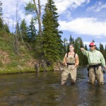 Guided fly fishing available.