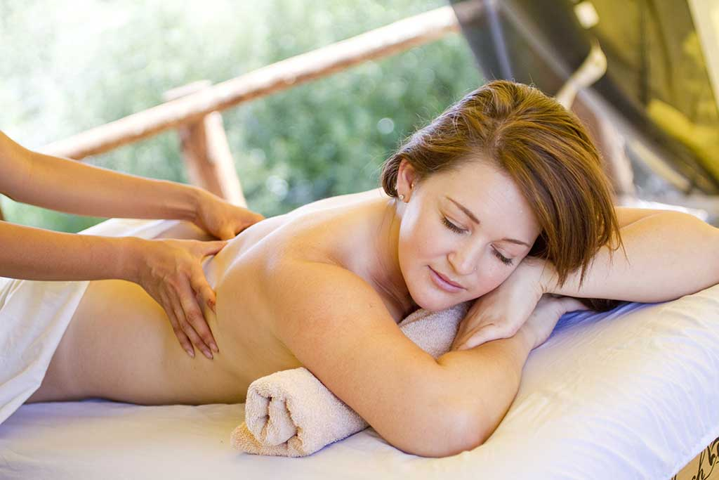 A wonderful massage at the Lazy You Spa